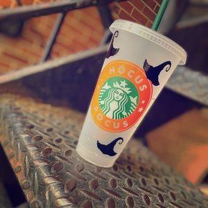 Starbucks cups!